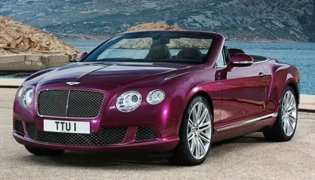 Bentley Continental GT Convertible 2014