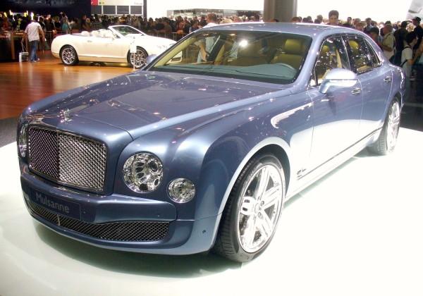 Bentley Mulsanne Pebble