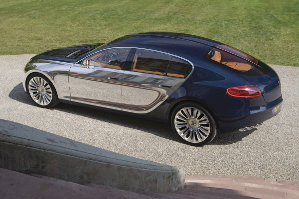 Bugatti Galibier Top Spead