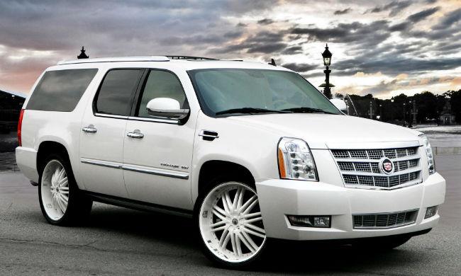 Cadillac Escalade 2013 White