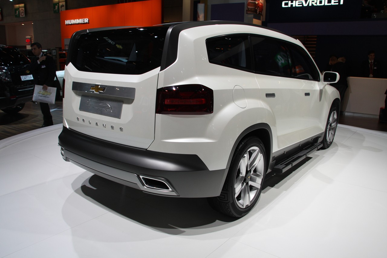 Chevrolet Orlando Indonesia