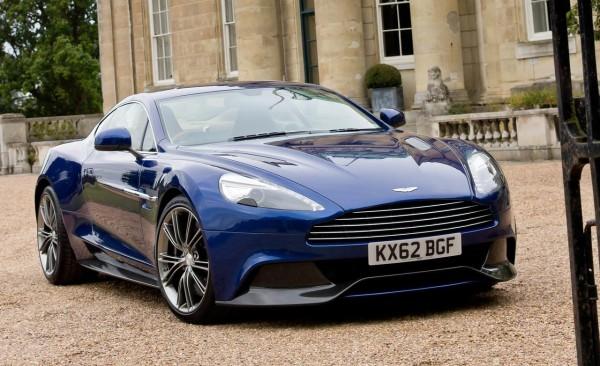 2014 Aston Martin Vanquish Blue