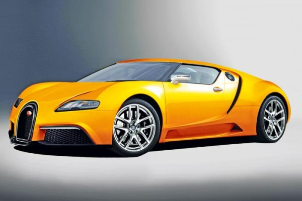 2014 Bugatti SuperVeyron Yellow