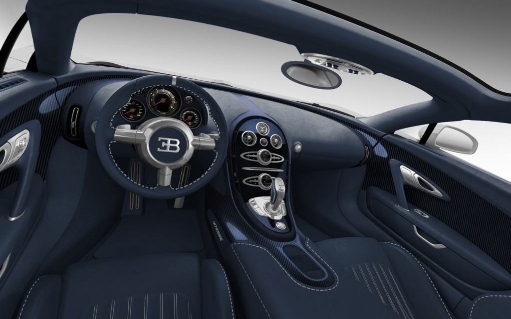 2014 Bugatti Superveyron Interior