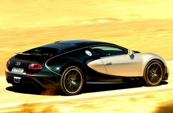 2014 Bugatti Superveyron Top Speed