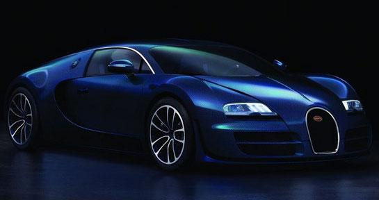 2014 Bugatti Veyron Blue Edition