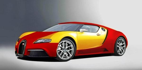 2014 Bugatti Veyron Colors