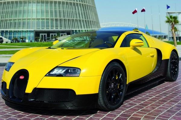 2014 Bugatti Veyron Yellow