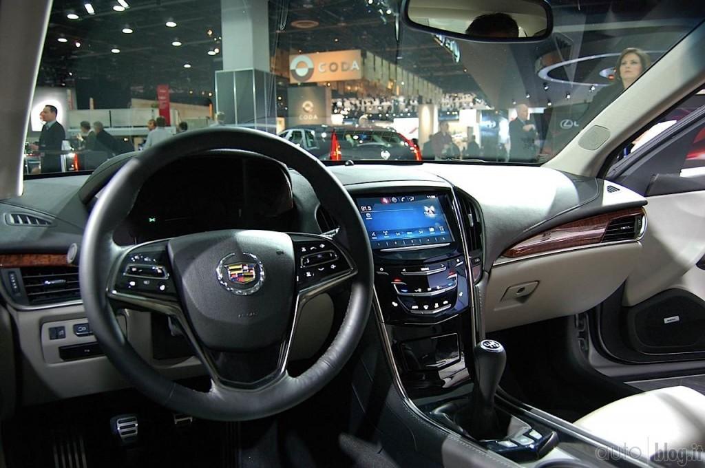 2014 Cadillac ATS Interior