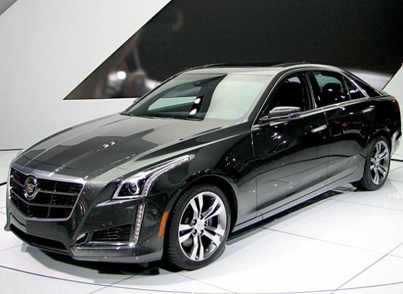 2014 Cadillac CTS Sports