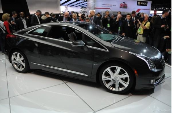 2014 Cadillac elr Detroit Auto Show