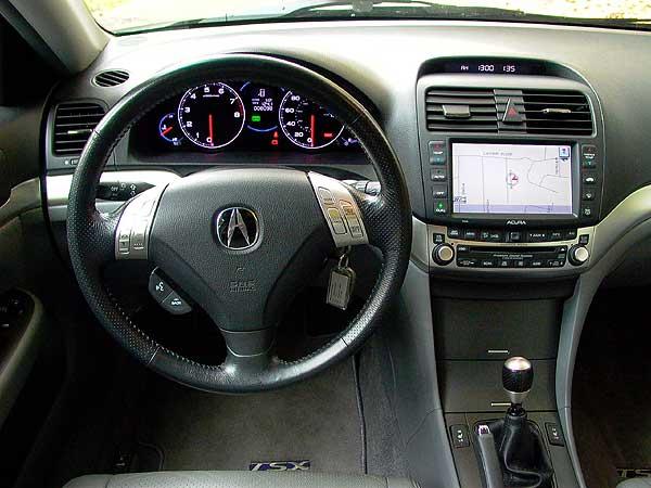 2003 acura tsx interior