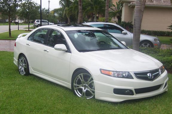 Acura TSX 2007 JDM  TOPISMAGNET