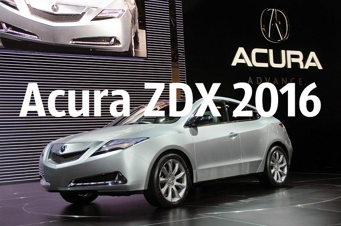 Acura ZDX 2016