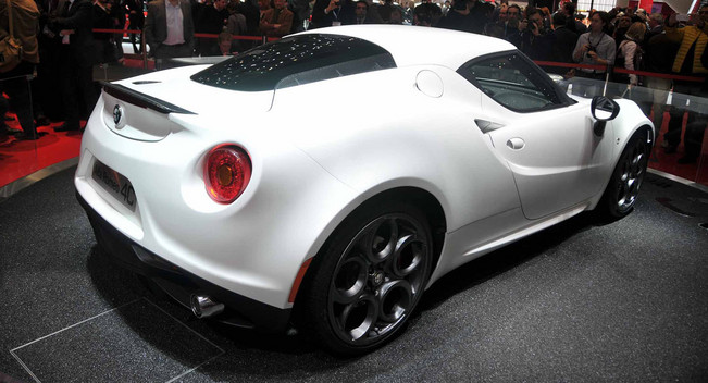 2014 Alfa Romeo 4c Coupe White