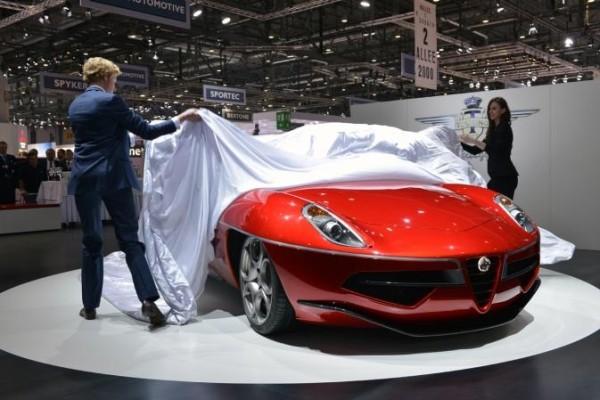 2014 Alfa Romeo 8c Auto Show