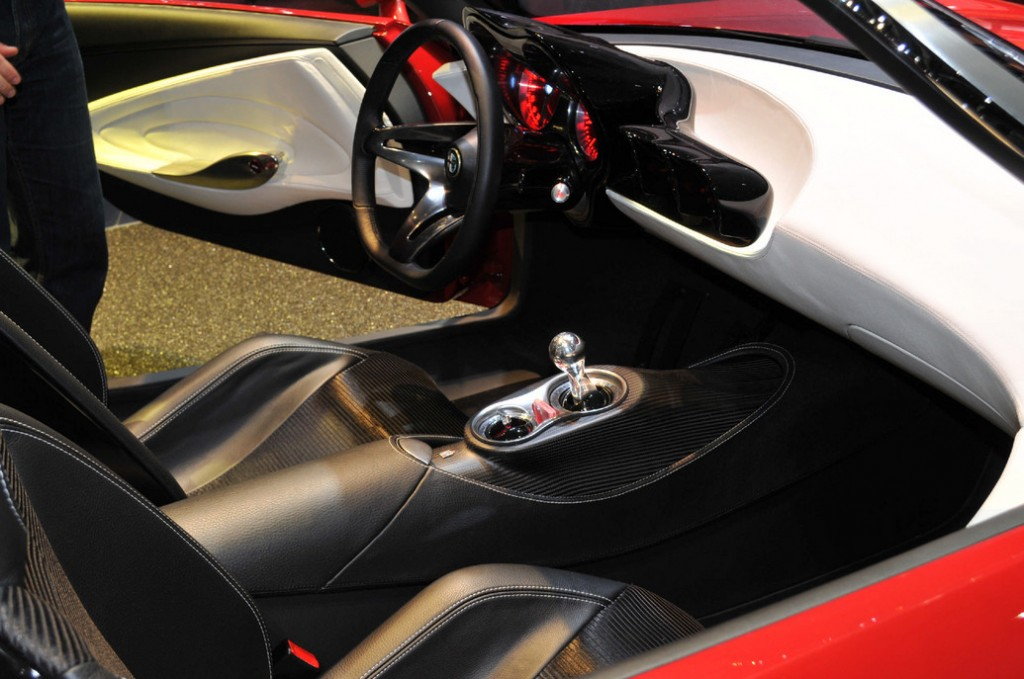 2014 Alfa Romeo Spider Dashboard