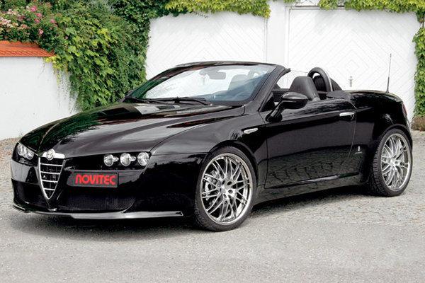 2014 Alfa Romeo Spider Novitec