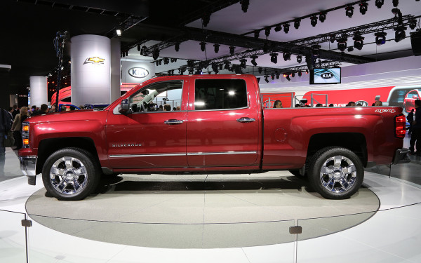 2014 Chevrolet Tahoe Auto Show