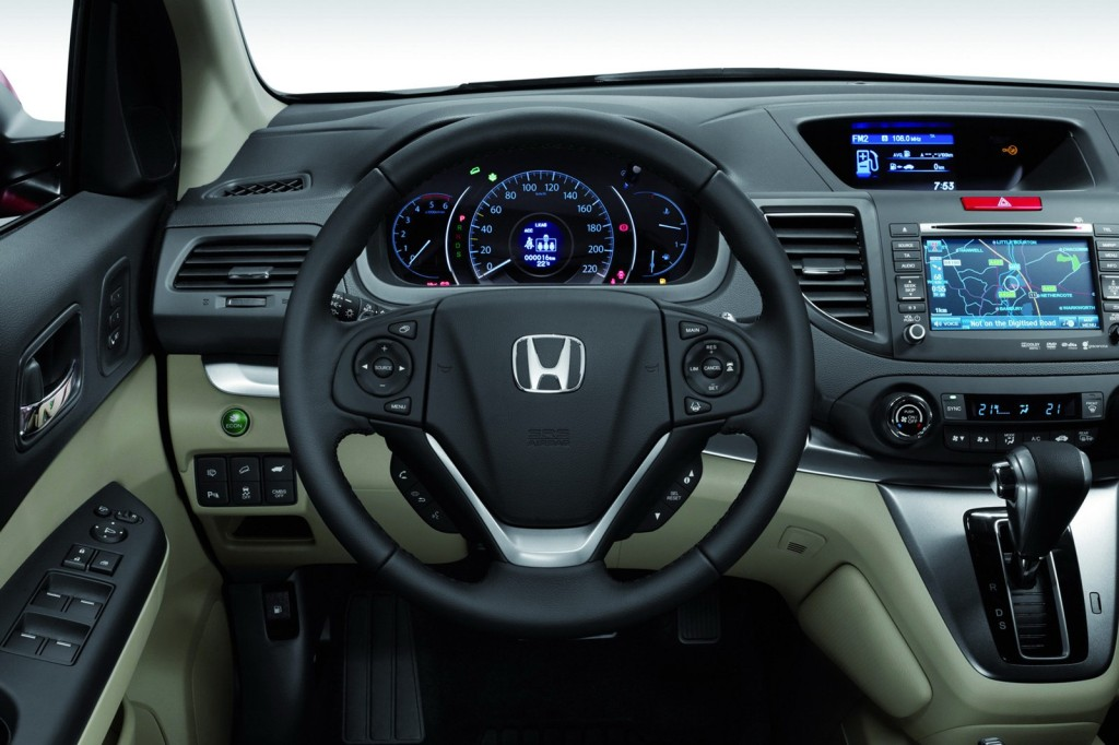 2014 Honda CRV Dashboard