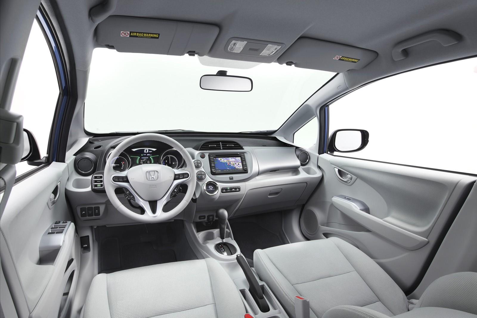 2013 Honda Fit Jazz Interior