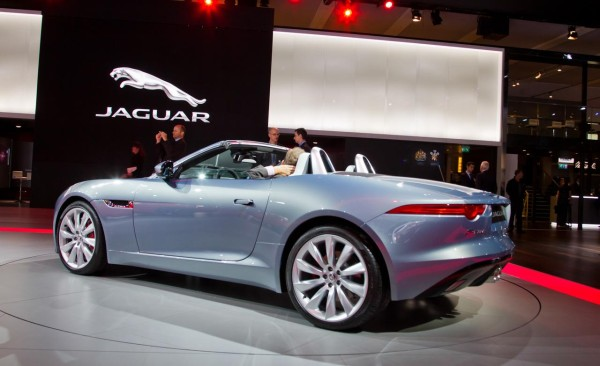 2014 Jaguar F-Type MPG Convertible