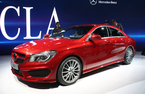 2014 Mercedes-Benz CLA 250 Auto Show