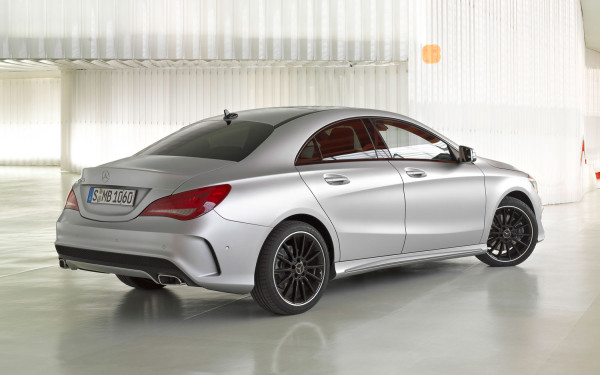 2014 Mercedes-Benz CLA 250 Changes