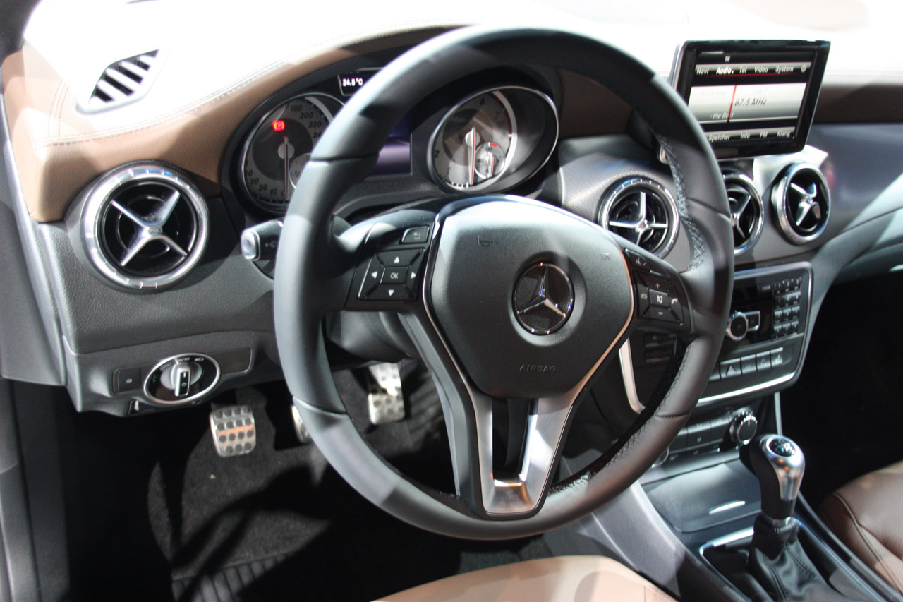 2014 Mercedes-Benz CLA Class Interior