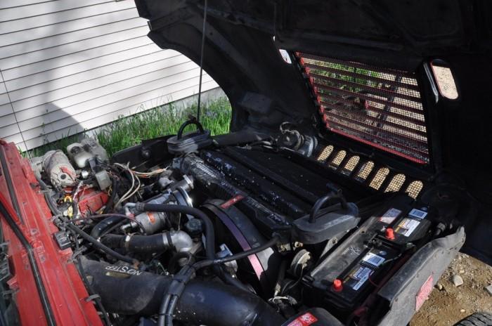 2014 Hummer H1 Engine
