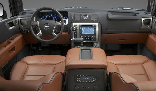 2014 Hummer H2 Interior
