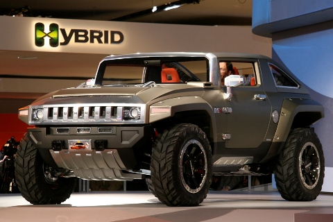 2014 Hummer HX Hybrid