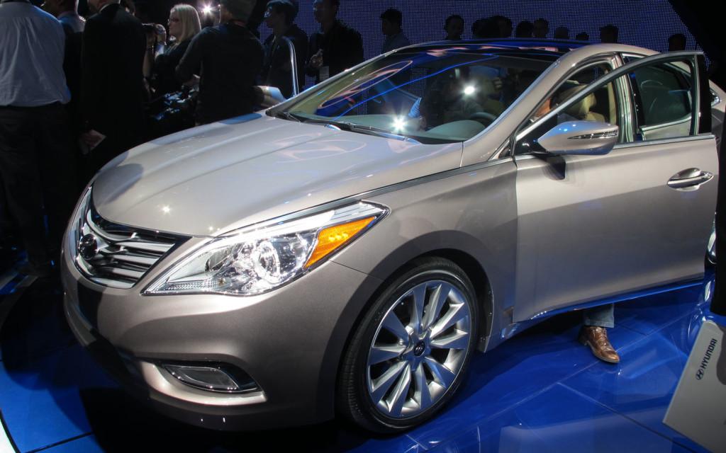 2014 Hyundai Azera Release