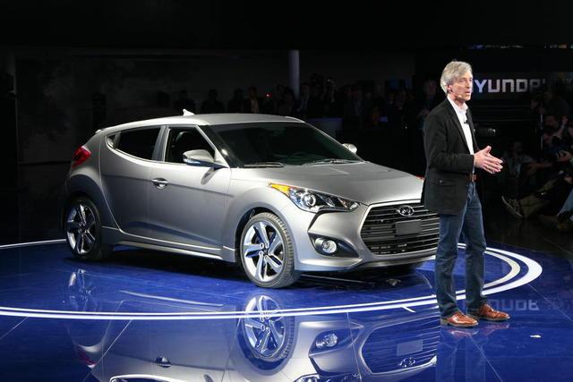 2014 Hyundai Veloster Auto Show