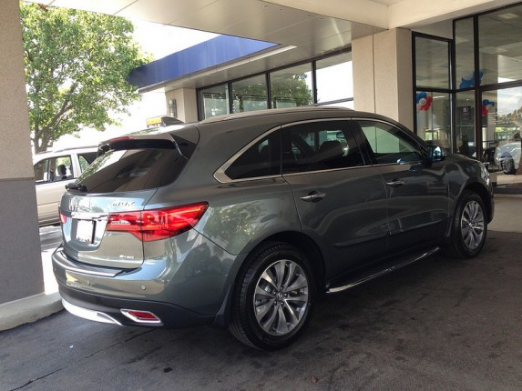 2014 Acura MDX Forest Mist