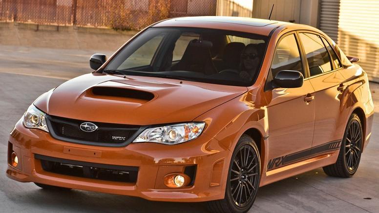2014 Subaru Wrx Interior