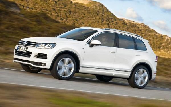 2014 Volkswagen Touareg White