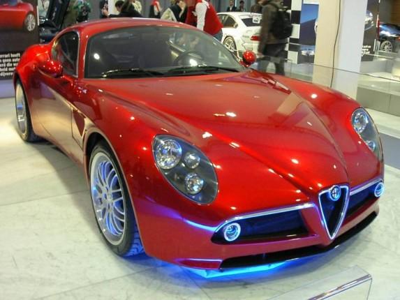 Alfa Romeo 8c Release