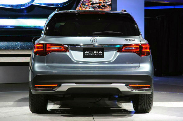 2015 Acura MDX Backlight