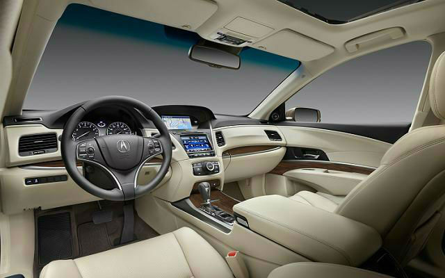2015 Acura MDX Hybrid Interior