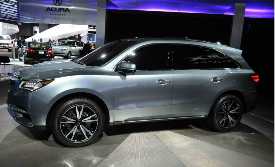 2015 Acura MDX Hybrid Release
