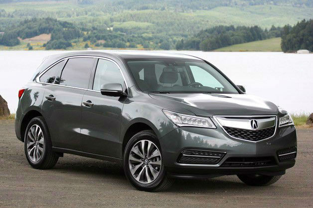 2015 Acura MDXHybrid Wallpaper