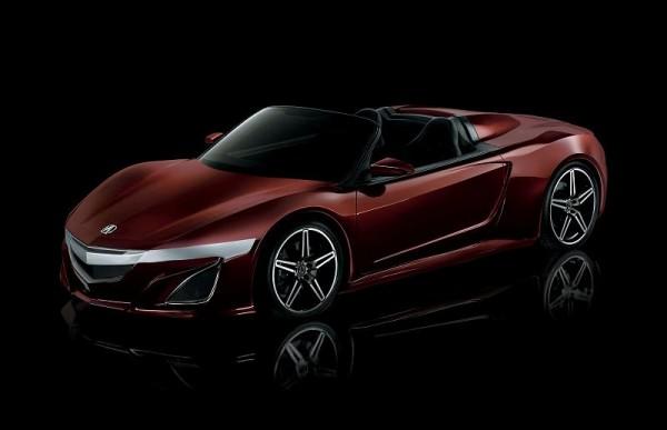 2015 Acura NSX  Convertible