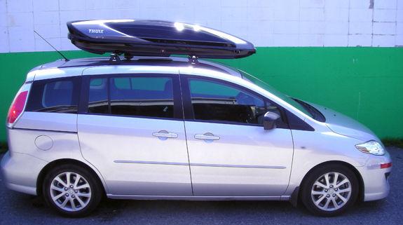 2013 Mazda5 Roof Rack