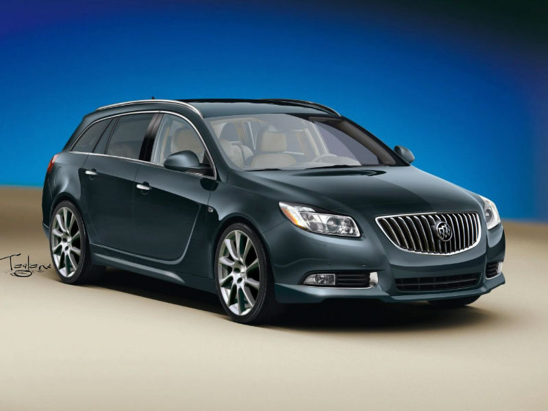 2014 Buick Regal Wagon
