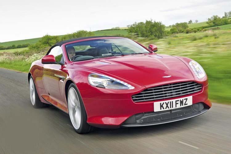 Aston Martin Virage Convertible