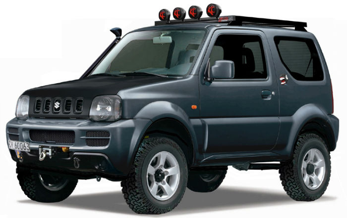 Suzuki Jimny 4x4 Modification