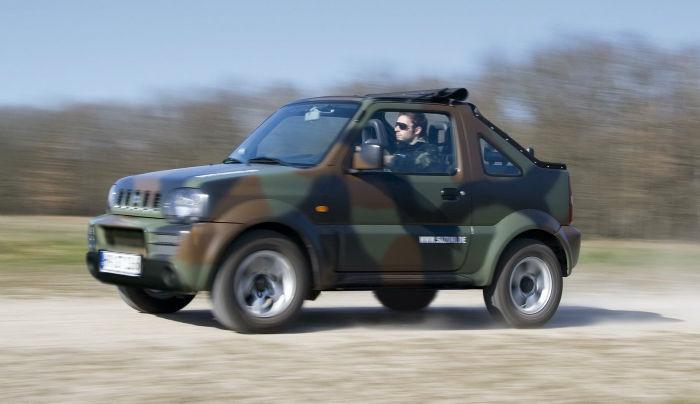 Suzuki Jimny Convertible | TOPISMAG.NET