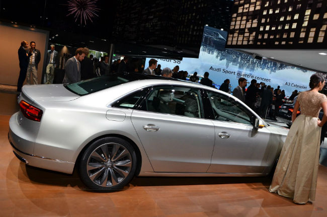 2015 Audi S8 Quattro