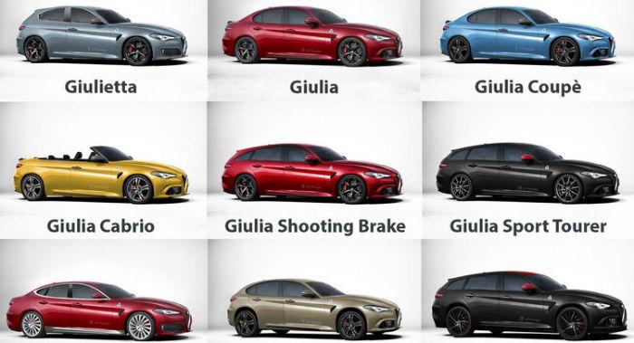Alfa Romeo 2017 Models